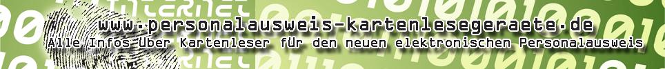 Karten-Leseger�te neuer elektronischer personalausweis