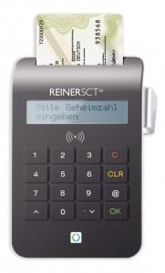 Komfortleser cyberJack® RFID komfort für den elektronischen Ausweis (ePA / nPA) von Reiner-SCT
